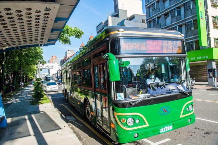 嘉義市電動公車_中山幹線