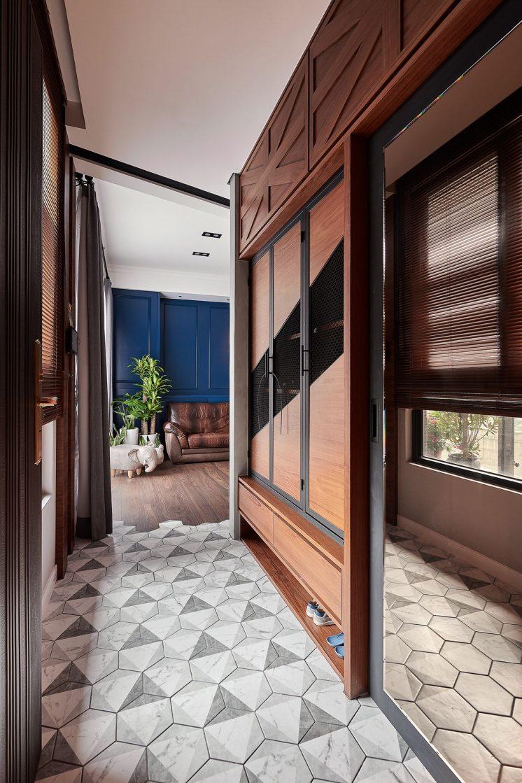 室內設計-六角花磚