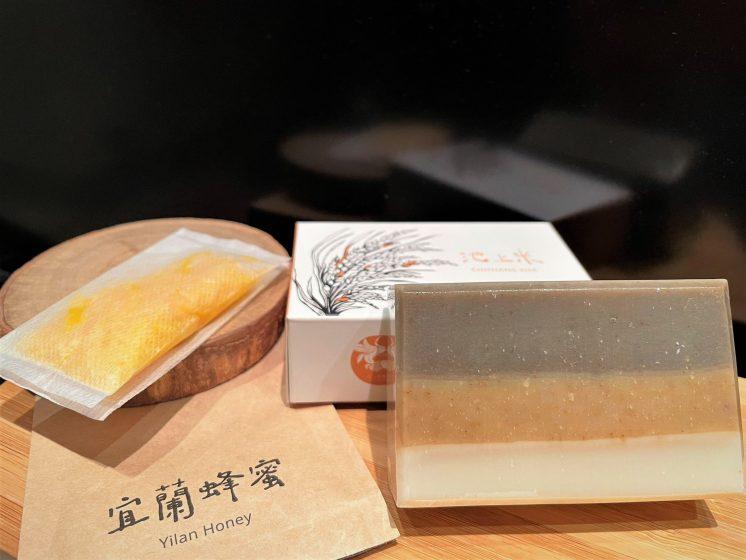 三三吾鄉台東池上米手工皂.宜蘭蜂蜜皂絲