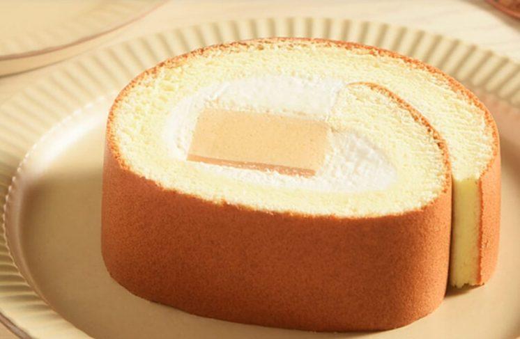 焦糖布丁生乳捲