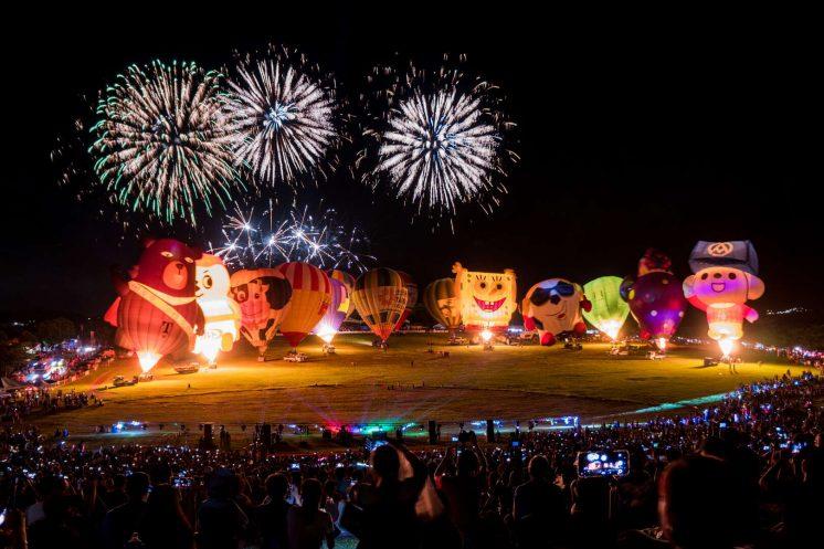 2020臺灣國際熱氣球嘉年華_光雕