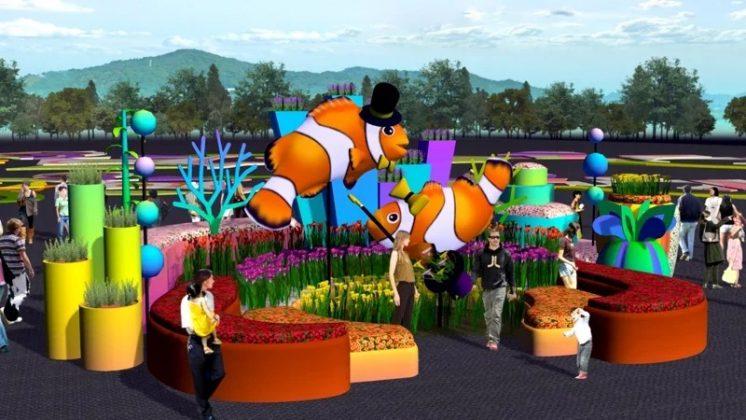 小丑魚展區