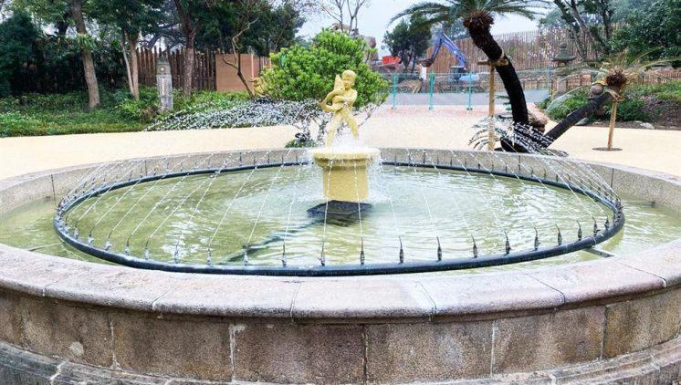 新竹動物園噴水池