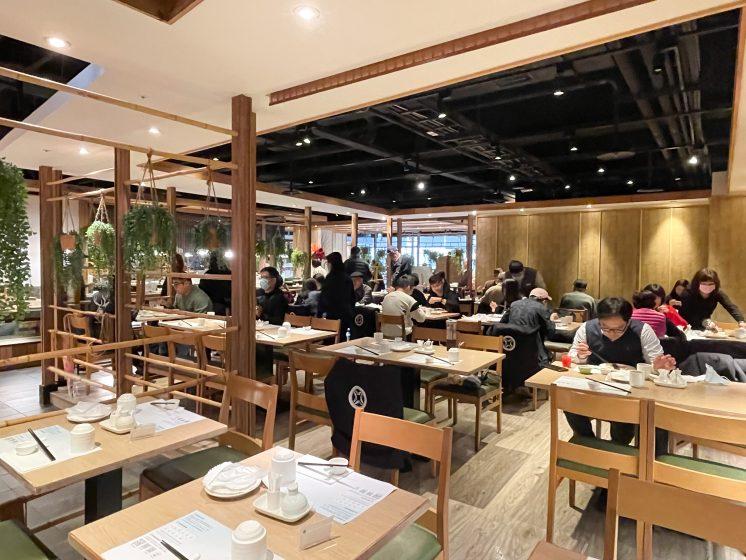 欣葉日本料理館前店_中間用餐區