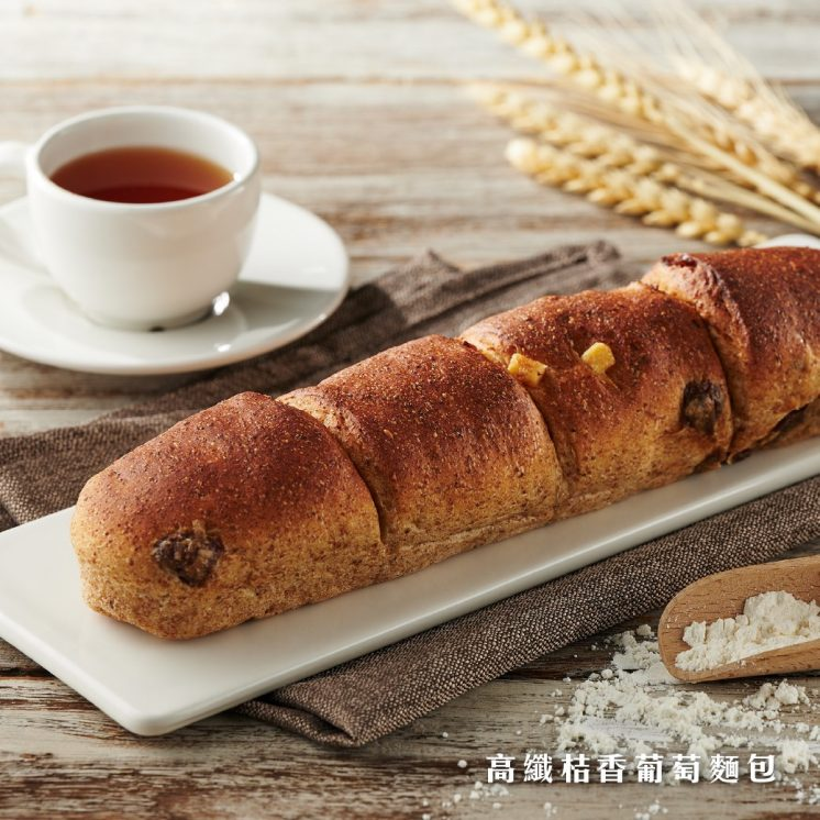 岩島成_高纖桔香葡萄麵包