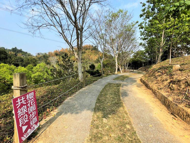 東勢林場天空步道櫻花園共線段
