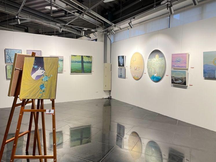 藝術家個人展區