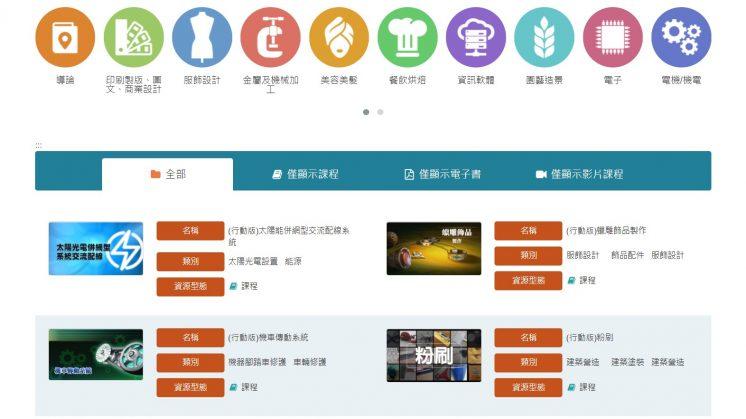 勞動力發展數位服務平台