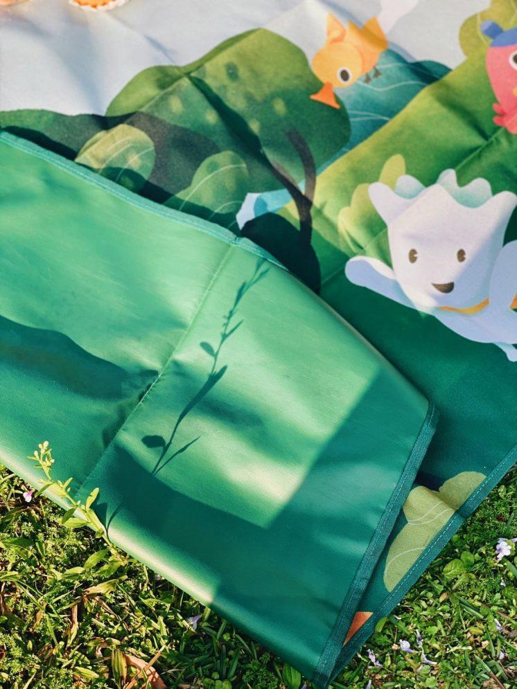 擁抱大自然野餐墊