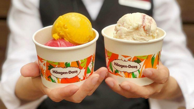 哈根達斯 雙球冰淇淋