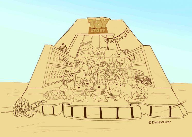 2021福隆沙雕藝術季-重溫皮克斯