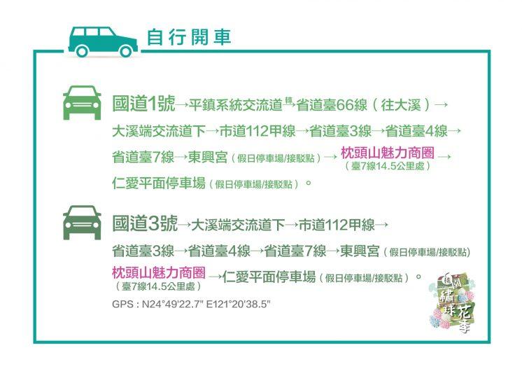 2021桃園繡球花季_交通資訊3