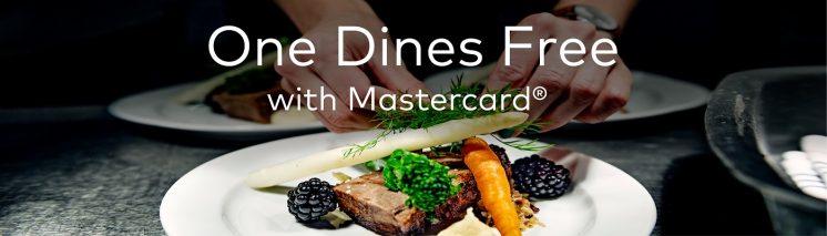 Mastercard贈送主餐優惠