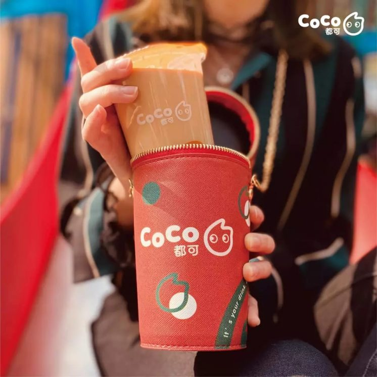 CoCo時尚圓筒金鍊包