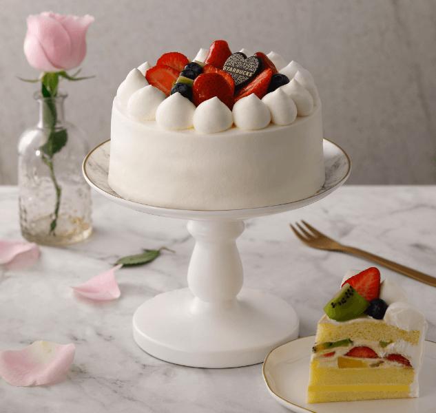 星巴克_水果布蕾香緹蛋糕