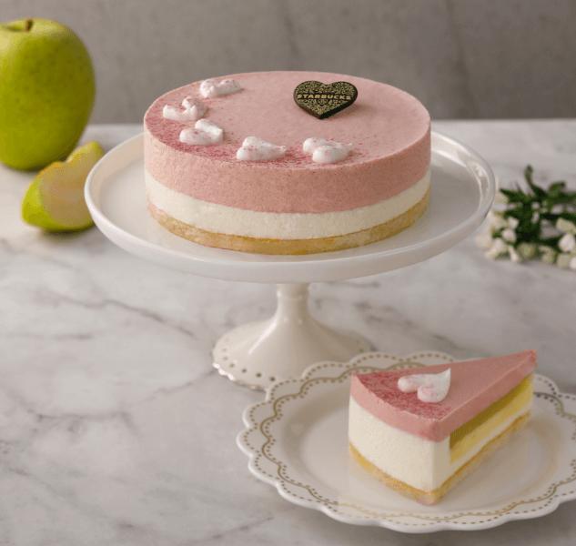 星巴克_紅心芭樂青蘋蛋糕