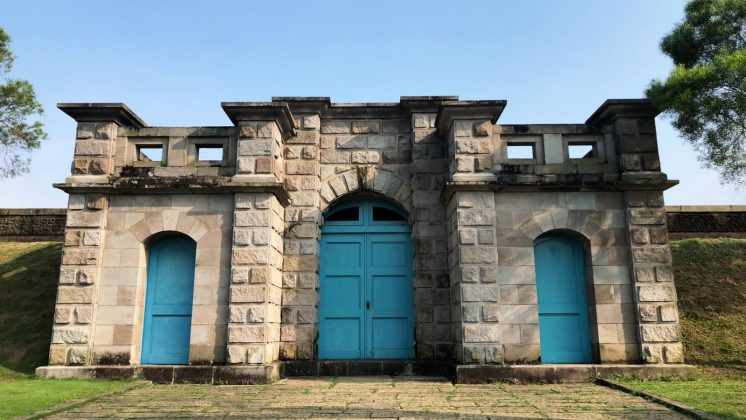 臺南花園水道博物館淨水池區