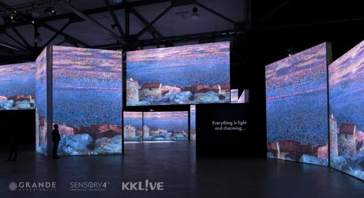 印象莫內光影體驗展