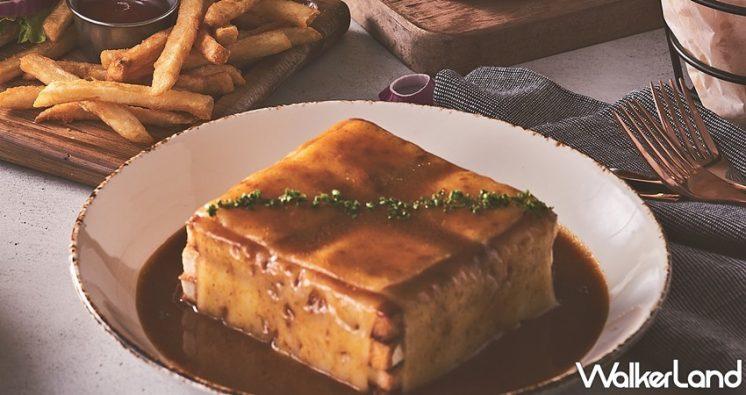 濕答答紅酒牛排三明治