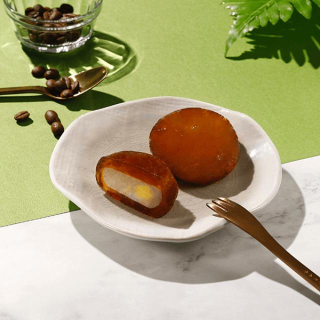 珍珠奶茶布丁星蕨餅