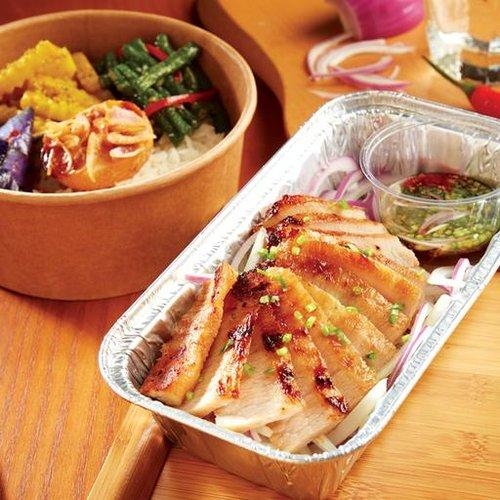 瓦城嫩烤松阪豬餐盒