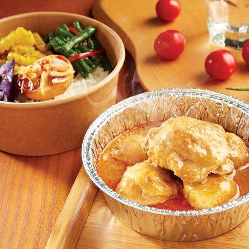 瓦城泰式咖哩雞餐盒