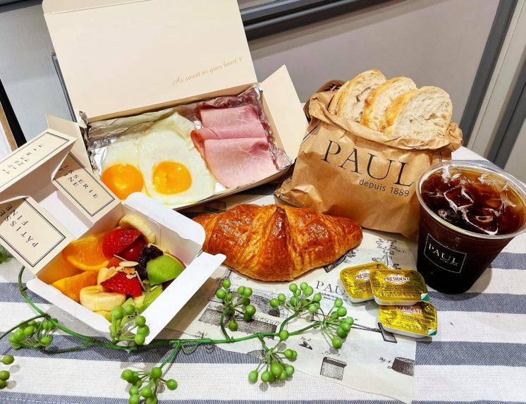 PAUL_巴黎豪華早餐自由選