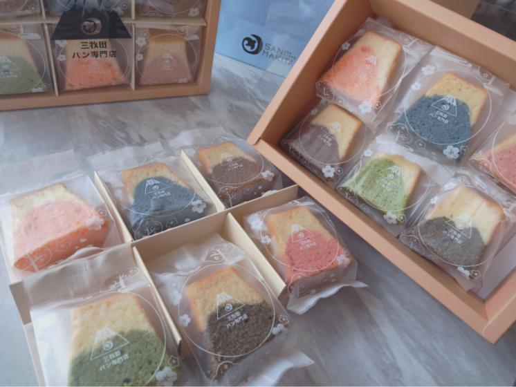 三牧田麵包專賣店-富士山磅蛋糕