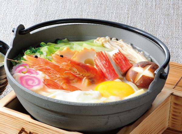 日式味噌烏龍麵定食