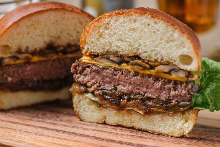 香煎和牛漢堡