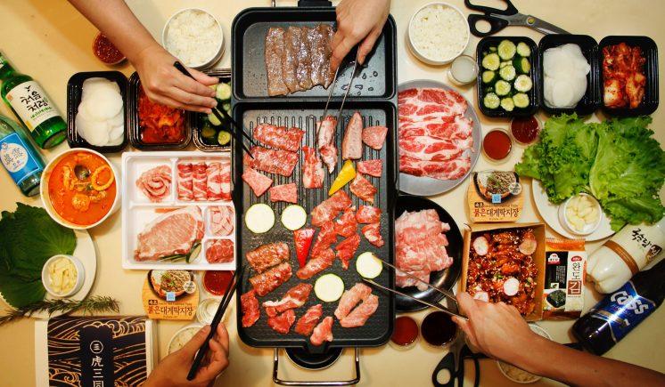 虎三同 韓式生鮮燒肉組合