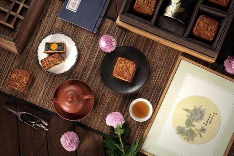 台北君品酒店:「畫中月月餅禮盒」