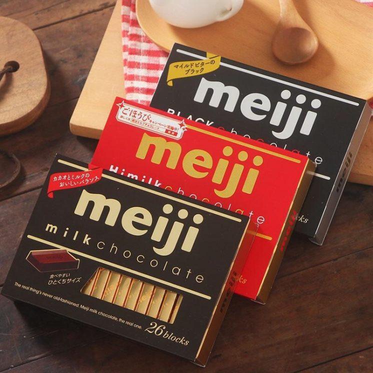明治meiji巧克力
