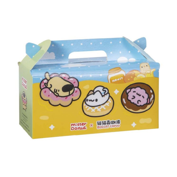 貓貓蟲咖波聯名甜甜圈_Mister Donut_咖波盒