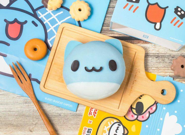 貓貓蟲咖波聯名甜甜圈_Mister Donut_咖波甜甜圈