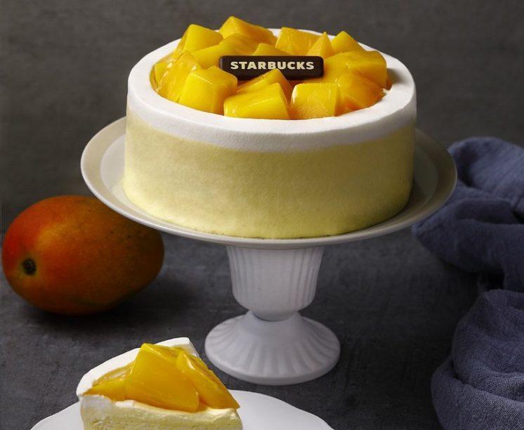 芒果布蕾戚風蛋糕