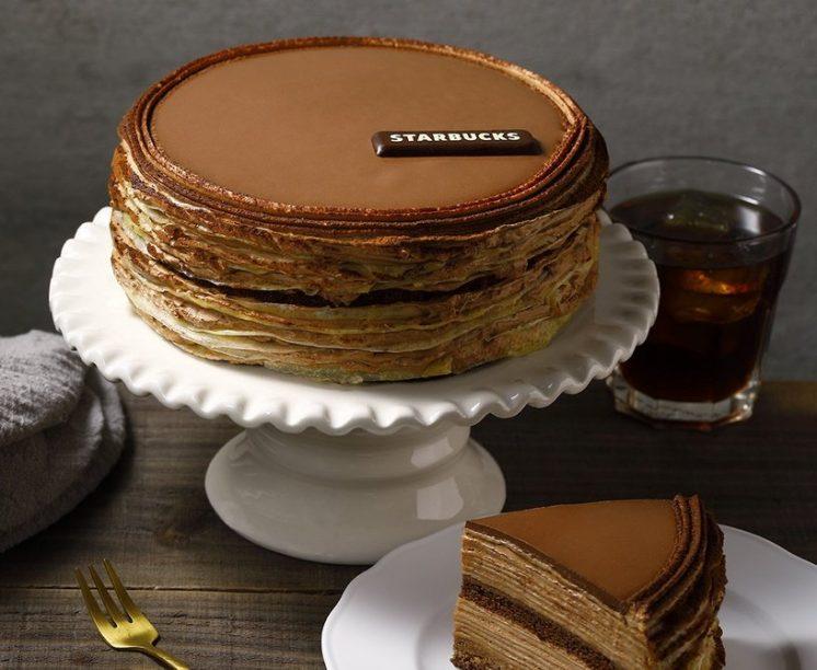 星巴克父親節蛋糕