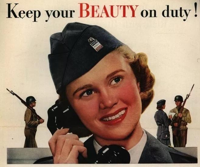 唇膏 二戰
