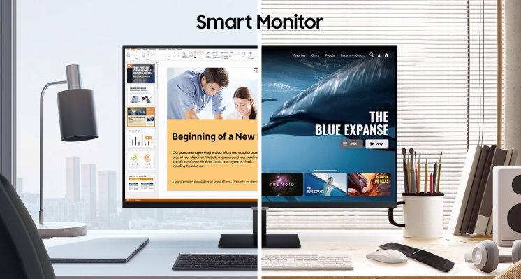 SAMSUNG 智慧聯網螢幕