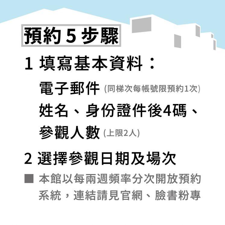 臺北市立美術館_適度鬆綁預約五步驟