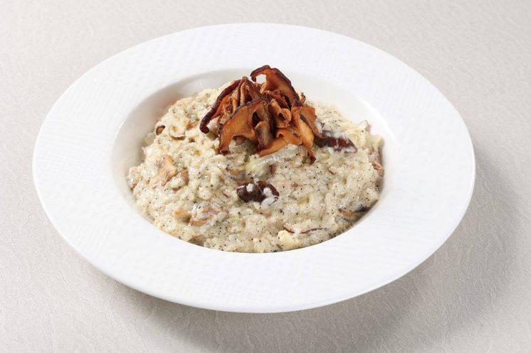 奶油松露野菇燉飯