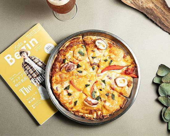 地中海漁夫海鮮披薩