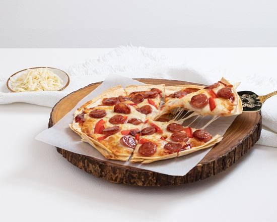 台式蒜味香腸披薩