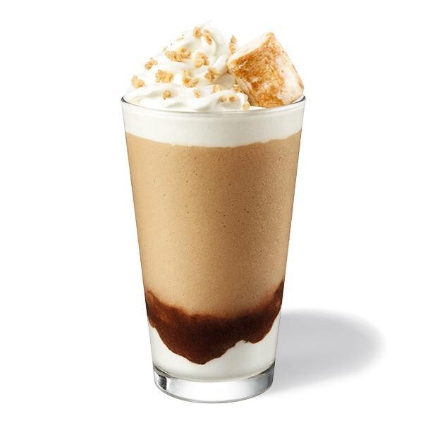 烤棉花糖咖啡星冰樂