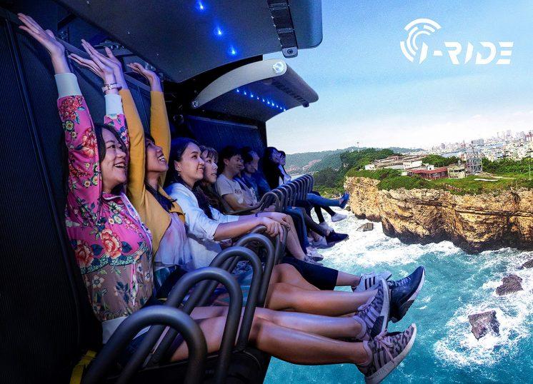 i-Ride TAIPEI 5D飛行劇院