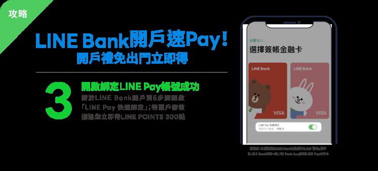 LINE Bank新戶禮