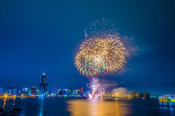 2021國慶煙火